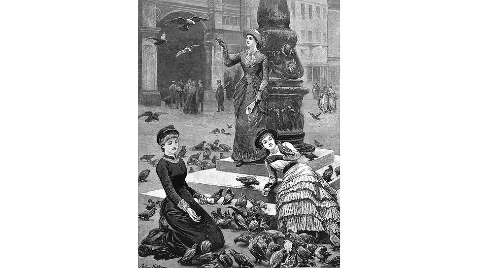 В свое время венецианцы умилялись тому, что туристы кормят голубей на площади Святого Марка. Сейчас им надоели и туристы, и голуби