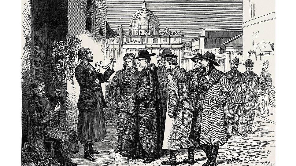 Долгое время главными путешественниками по Европе были пилигримы
