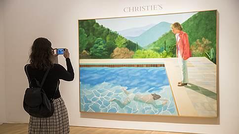 Чемпион среди живых // Картина Дэвида Хокни продана за $90 млн