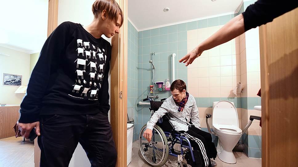 В новом доме создана безбарьерная среда, позволяющая людям с инвалидностью чувствовать себя самостоятельными