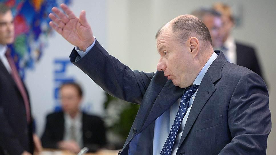 Бизнесмен Владимир Потанин