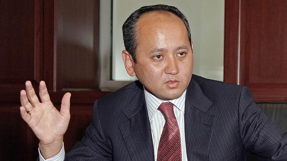 Казахский банкир Мухтар Аблязов