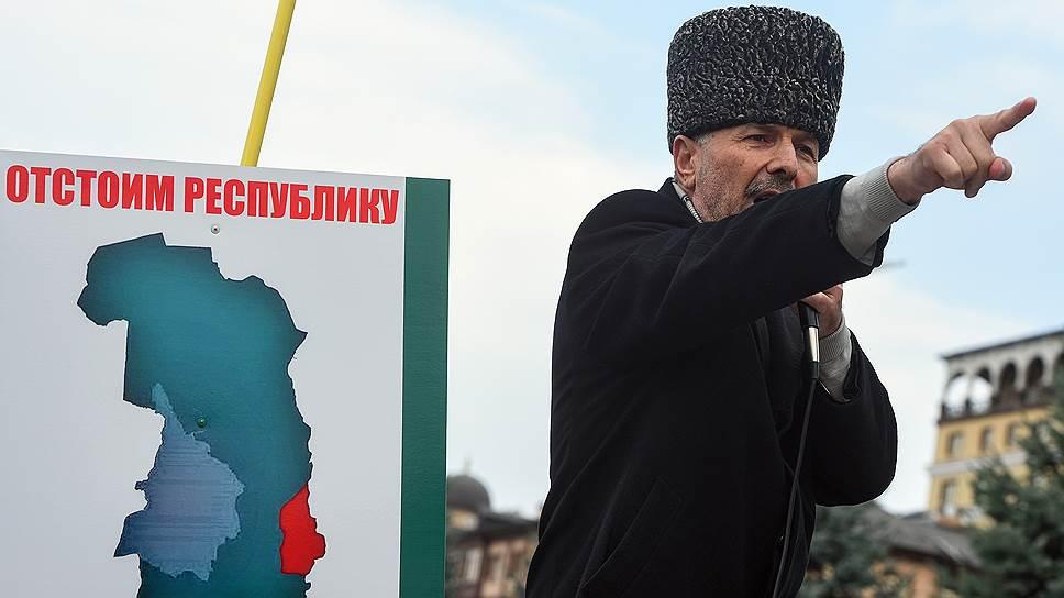 Как возник вопрос о границе Чечни и Ингушетии
