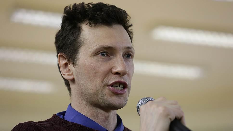 Эколог, публицист, сотрудник Пермского регионального правозащитного центра Роман Юшков