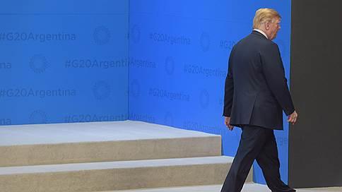 Дональд Трамп приостановил торговую войну с Китаем  / Итоговая декларация саммита G20 принята с учетом «особой позиции США»