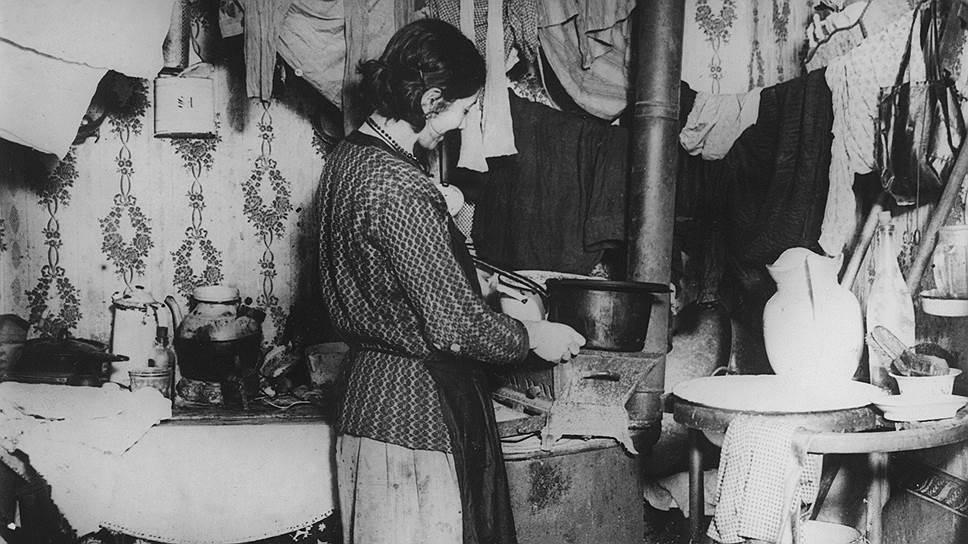 В квартирах, где сдавались углы, отопление было заботой арендодателей, но топливо для кухонной печи жильцы оплачивали вскладчину