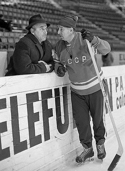 В 1962-1972 годах во время его работы вместе с тренером Аркадием Чернышевым сборная СССР девять раз подряд выигрывала чемпионат мира (1963-1971) и три раза — Олимпийские игры (1964, 1968, 1972). Девять лет подряд сборная страны становилась победителем на всех крупных международных соревнованиях