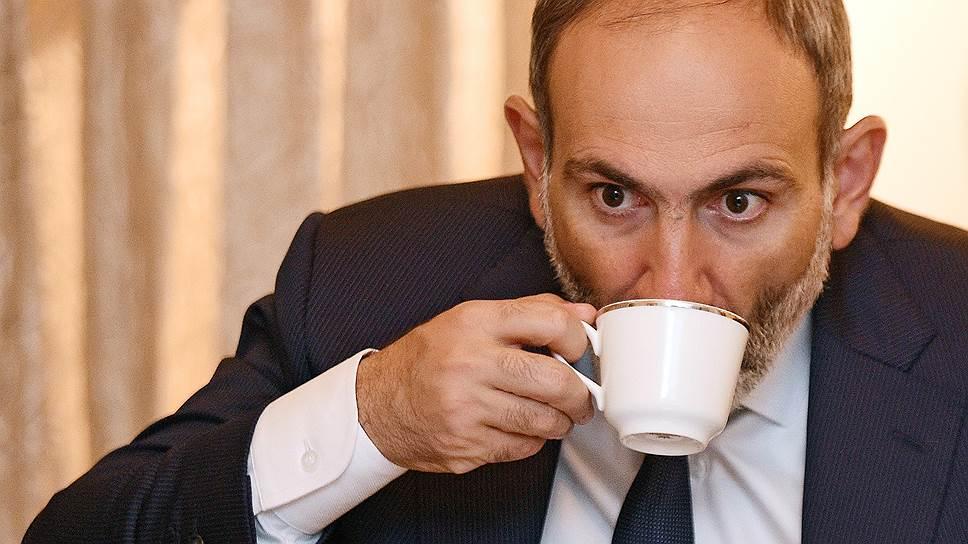 И. о. премьер-министра Армении Никол Пашинян