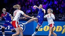 Россиянки забросали Данию мячами