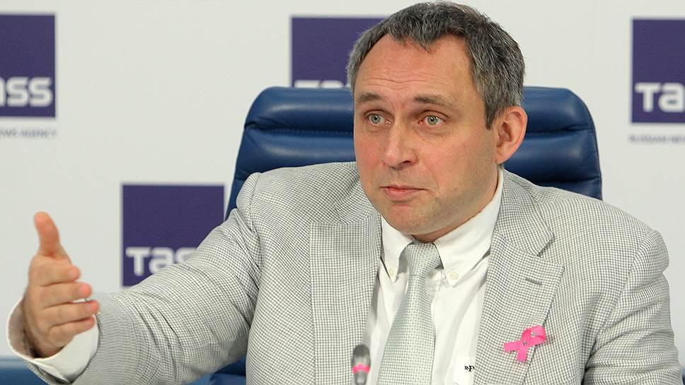 Член правления Российского общества клинической онкологии (RUSSCO) Николай Жуков