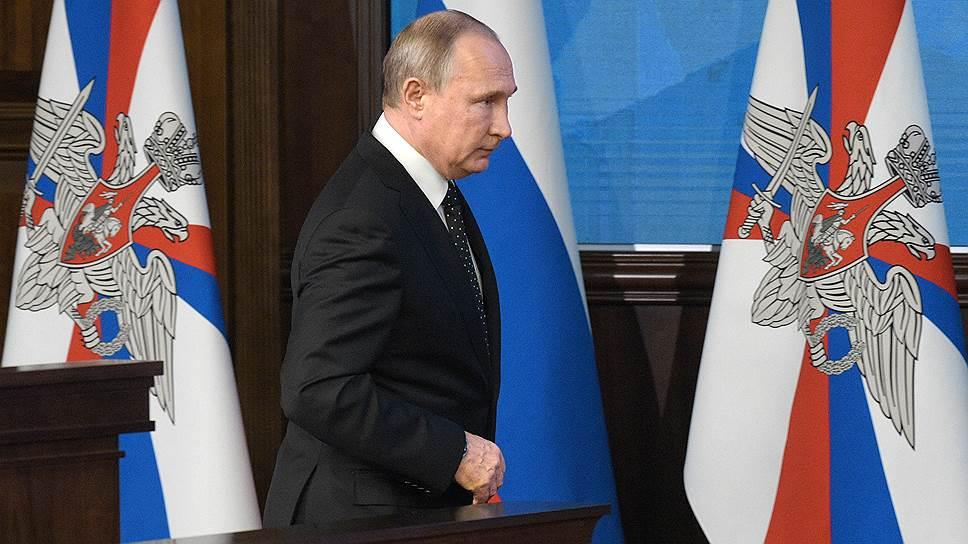 Какие советы дал военным Владимир Путин на 2019 год