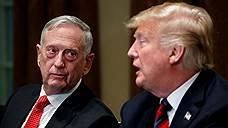 Глава Пентагона уходит от Дональда Трампа