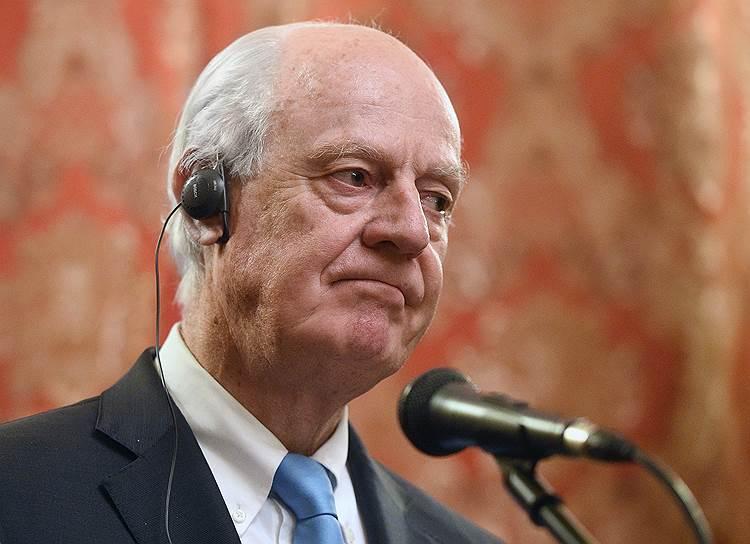 17 октября спецпосланник генсека ООН по Сирии Стаффан де Мистура объявил о своей отставке. С 7 января его пост займет норвежский дипломат Гейр Педерсен