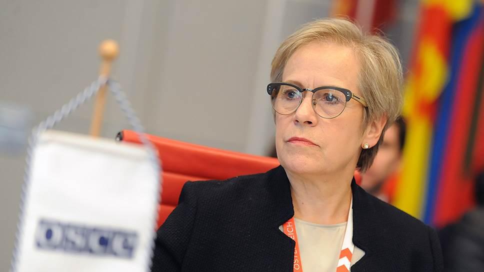 Директор Бюро по демократическим институтам и правам человека Ингибьёрг Сольрун Гисладоттир