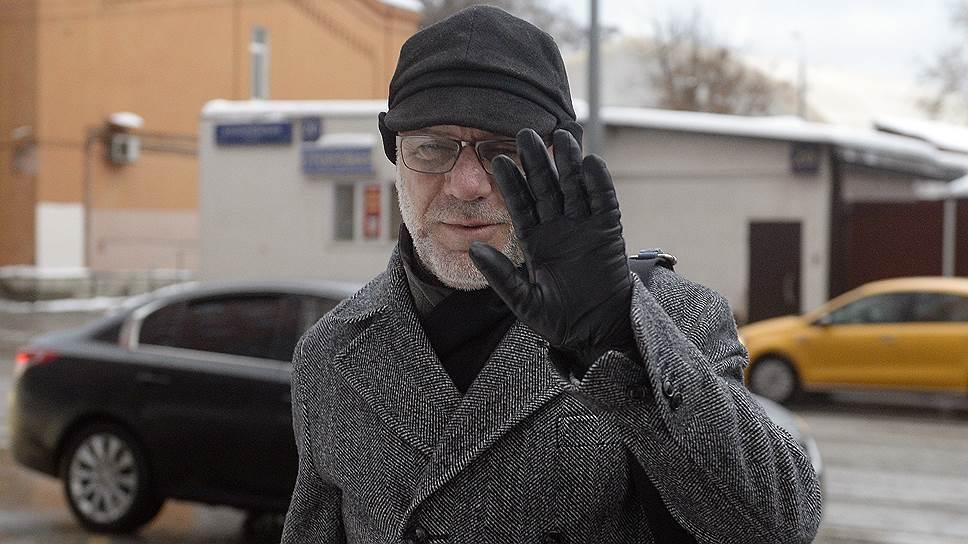 Экс-генеральный продюсер «Седьмой студии» Алексей Малобродский