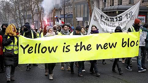 Одни «жилеты» спорят, другие дерутся // Диалог с властями сопровождался беспорядками на улицах Франции