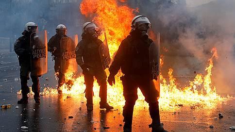 Афины митингуют против появления на карте «Северной Македонии» // До 70% греков против урегулирования спора о наименовании таким образом