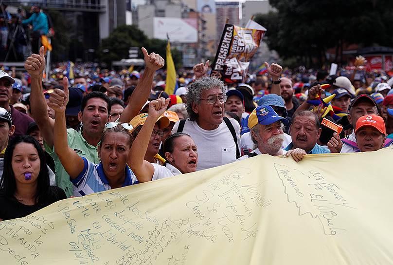 Полномочия Хуана Гуаидо также признал генсек Организации американских государств Луис Альмагро