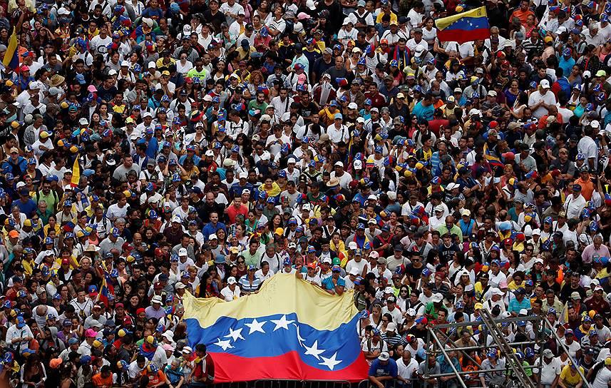 Ранее 10 января Николас Мадуро вступил в должность президента Венесуэлы на второй срок до 2025 года
