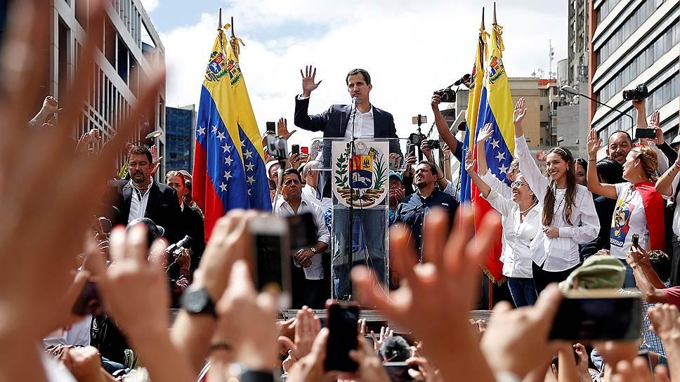 Зарубежные СМИ — о попытке госпереворота в Венесуэле