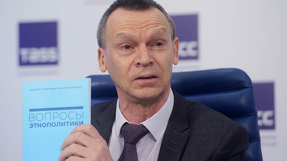 Ректор Российского государственного гуманитарного университета (РГГУ) Александр Безбородов