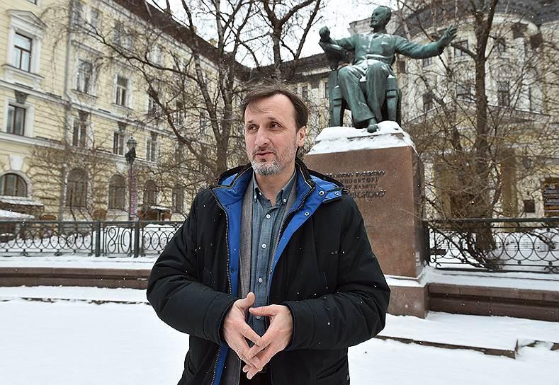 Руководитель хора московского подворья Троице-Сергиевой лавры Владимир Горбик