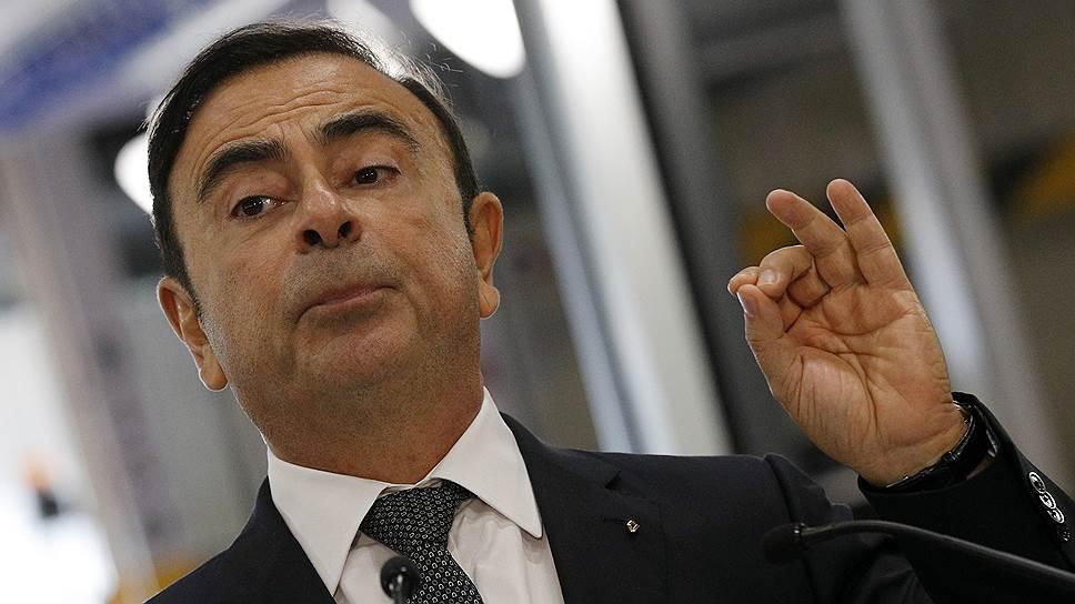 Бывший глава концерна Renault Nissan Карлос Гон