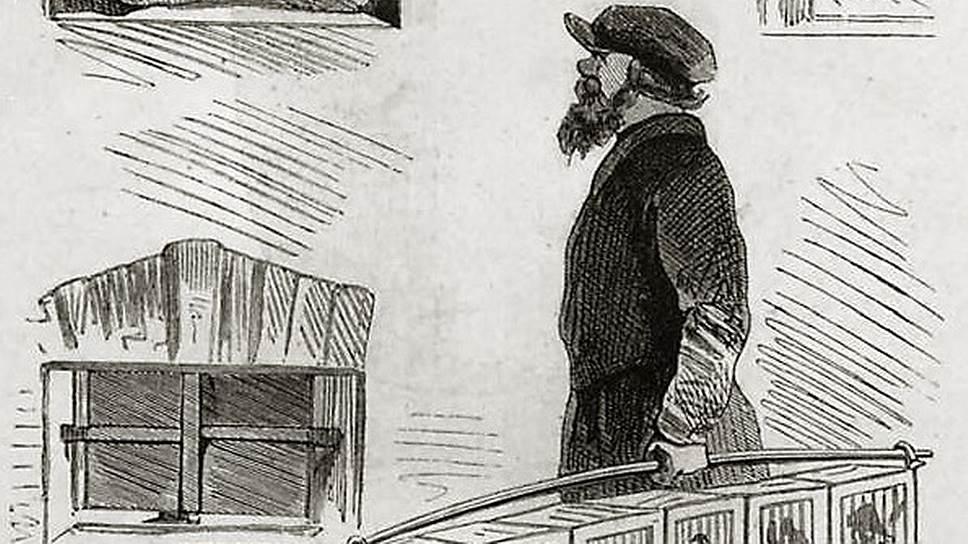 У уличных торговцев певчими птицами всегда был товар на любой вкус и кошелек