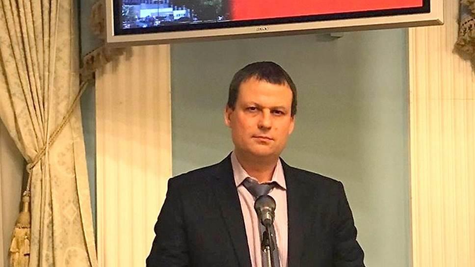 Руководитель отделения «Центра противодействия коррупции» Дмитрий Грибов