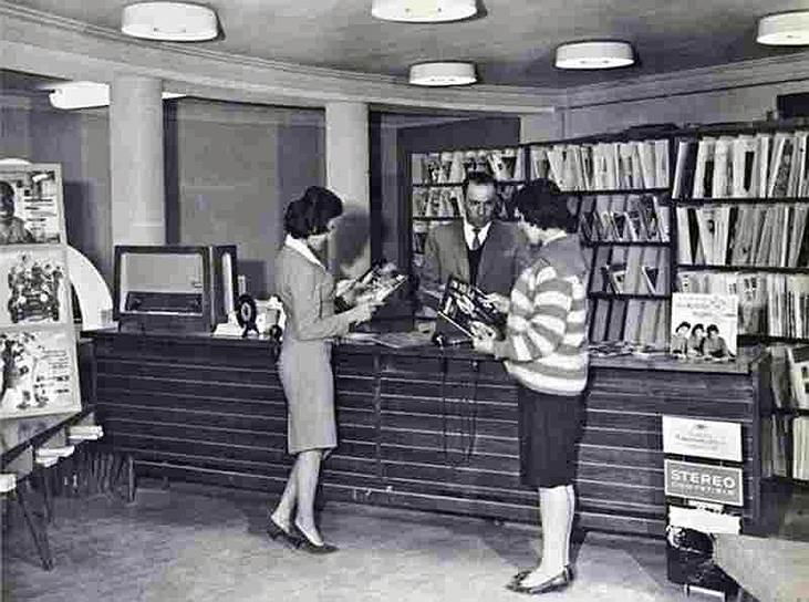 Музыкальный магазин в Кабуле, 1970-е годы
