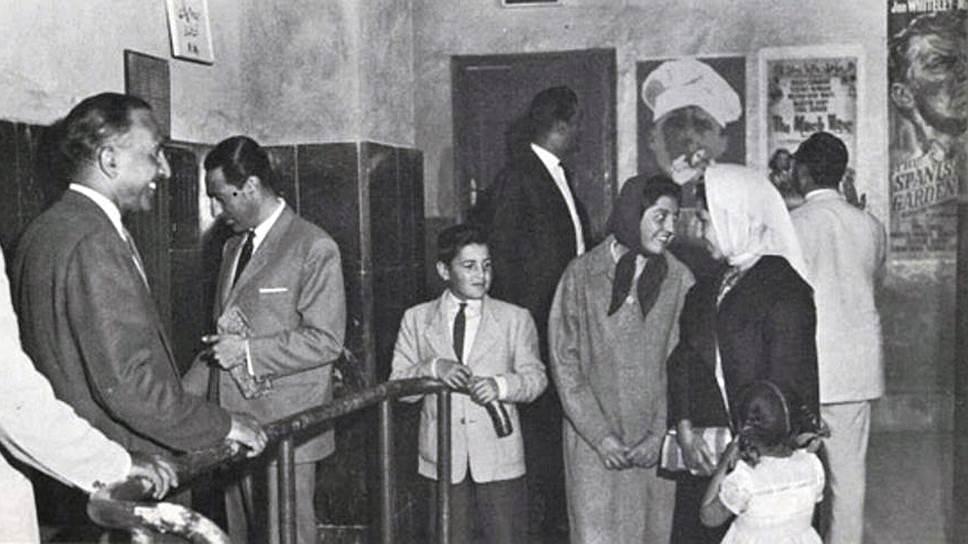 Кинотеатр в Кабуле, 1970-е годы