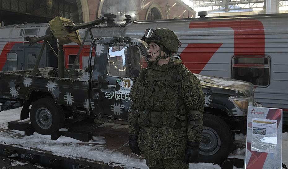 На сайте Министерства обороны открыт мультимедийный раздел, где можно будет отслеживать маршрут поезда