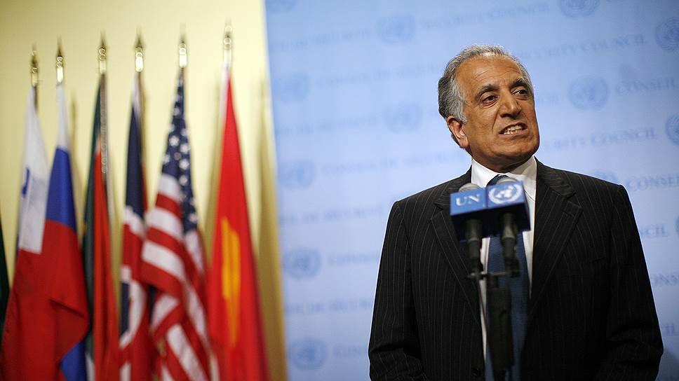 Представитель США по Афганистану Залмай Халилзад