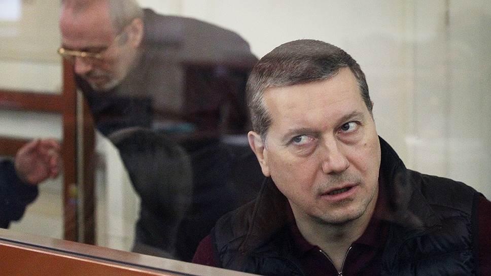 Бывший мэр Нижнего Новгорода Олег Сорокин (на переднем плане) и бывший полицейский Евгений Воронин