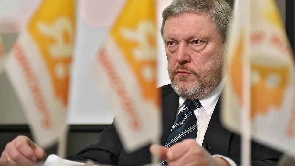 Лидер «Яблока» Григорий Явлинский