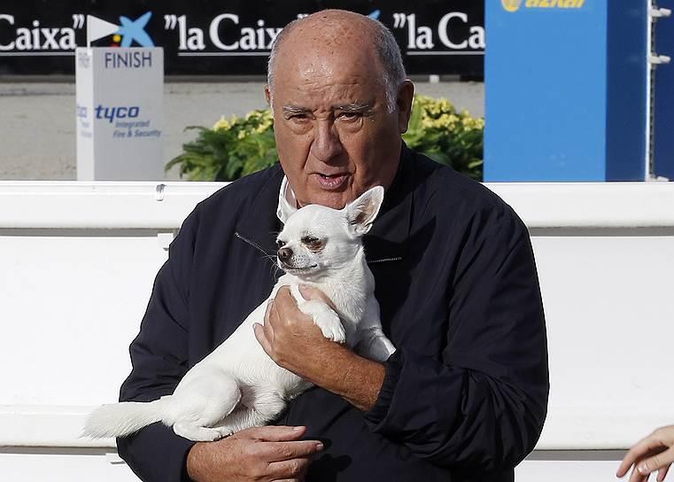 6-е место: основатель ритейлера Zara и текстильного концерна Inditex Амансио Ортега — $62,7 млрд