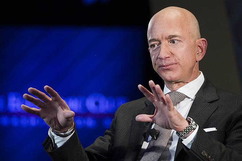 1-е место: основатель Amazon Джефф Безос — $131 млрд