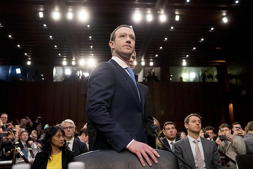 8-е место: основатель Facebook Марк Цукерберг — $62,3 млрд