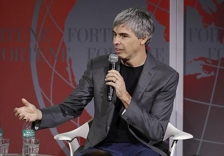 10-е место: разработчик и сооснователь поисковой системы Google Ларри Пейдж — $50,8 млрд