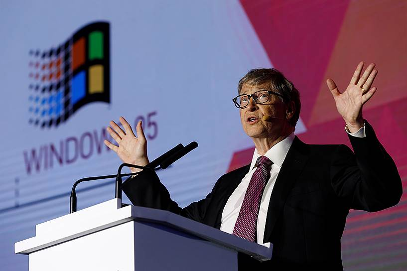 2-е место: основатель Microsoft Билл Гейтс — $96,5 млрд