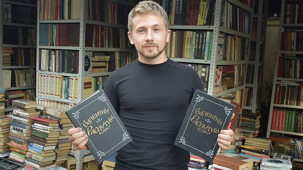 Основатель «Книжного приюта» Евгений Гинтов
