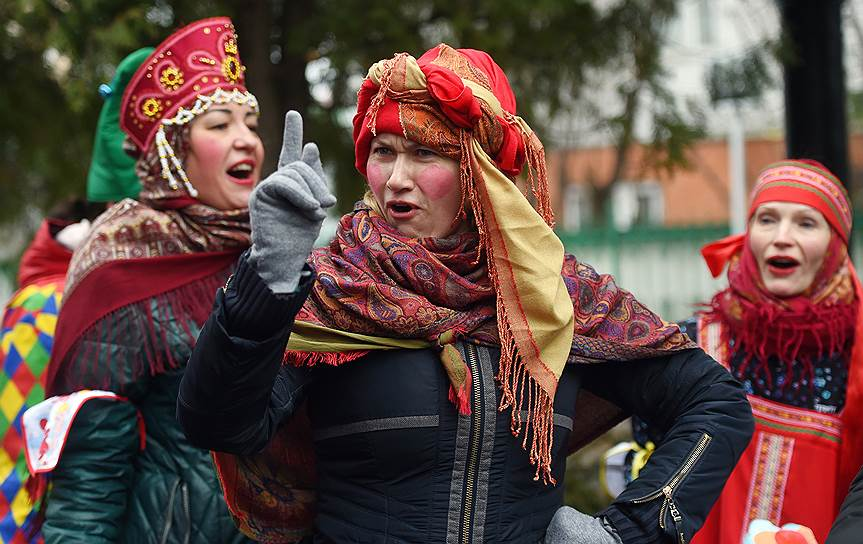 Праздничные гуляния «Широкая Масленица» в Балашихе