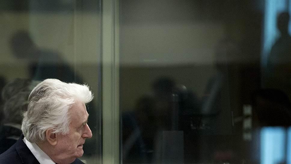 Бывший президент Республики Сербской Радован Караджич