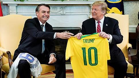 Дональд Трамп пригласил Бразилию в НАТО // Президент США восхитился Жаиром Болсонару