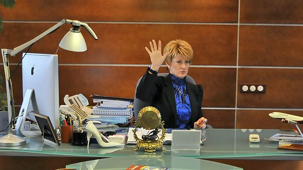 Бывшей гендиректор «Трансаэро» Ольга Плешакова