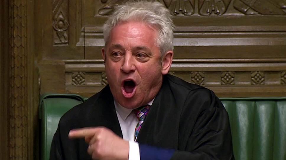 Спикер Палаты общин Великобритании Джон Беркоу