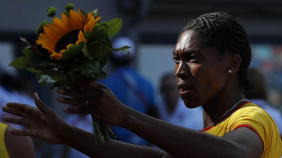 Южноафриканская легкоатлетка Кастер Семени