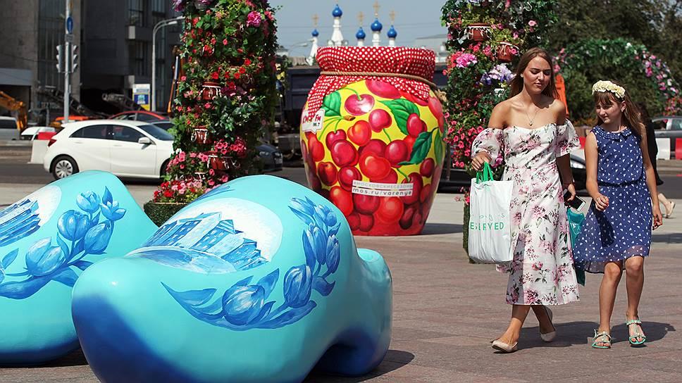 Фестиваль «Московское варенье. Дары природы» на Театральной площади в Москве