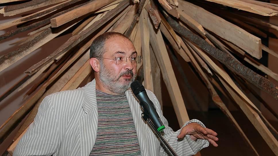 Марат Гельман на открытии выставки в музее современного искусства PERMM, 2010 год