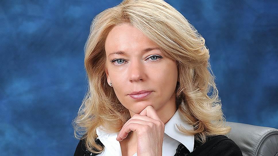 Зампред правления «Газпрома» Елена Бурмистрова